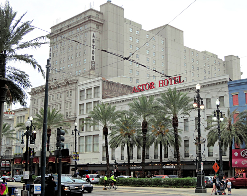 Astor Crowne Plaza Hotel,  New Orleans
