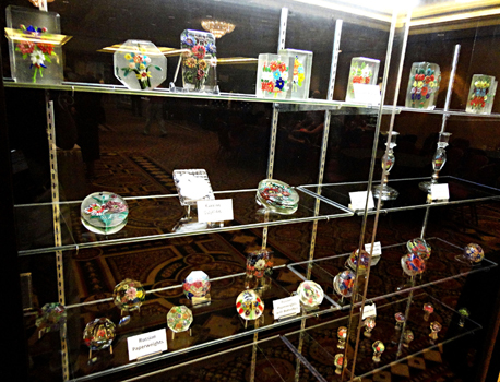 Special exhibit of Russian paperweights, plaques, and seals