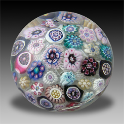 Paperweight with Domenico Bussolin canes